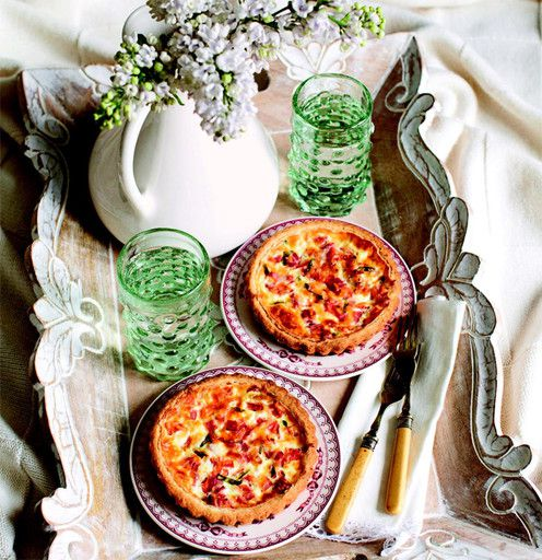 Quiche Lorraine on Julia Vysotsky
