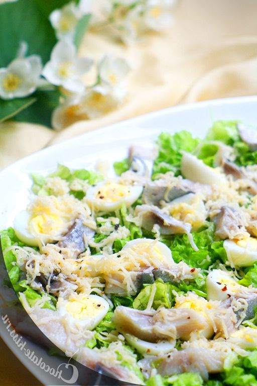 Salad with herring by Julia Vysotsky