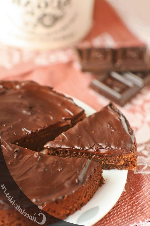 Chocolate cake - pudding