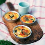Talezh cheese baked with pumpkin and sage